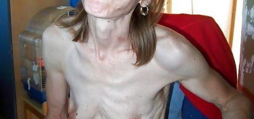 skinny Frauen